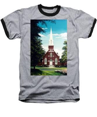 Methodist Church Baseball T-Shirt