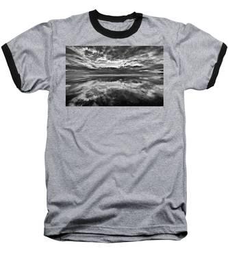 Mirror Explosion Baseball T-Shirt