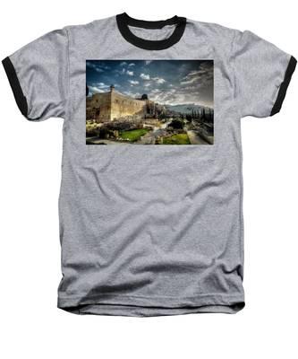 Morning In Jerusalem Hdr Baseball T-Shirt