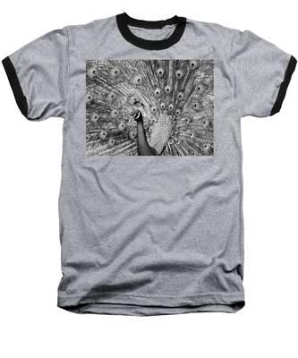 Mother Natures Fireworks Baseball T-Shirt
