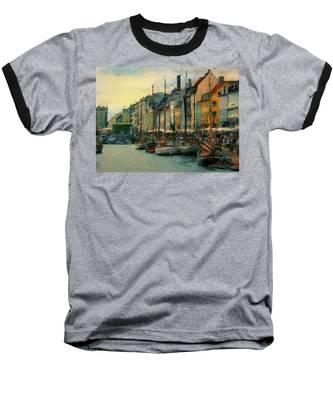 Nayhavn Street Baseball T-Shirt