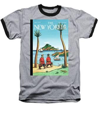 New Yorker April 21st, 2008 Baseball T-Shirt