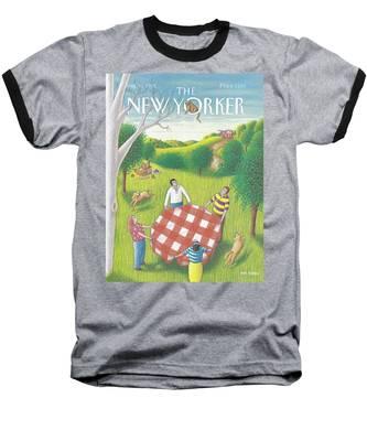 New Yorker August 31st, 1992 Baseball T-Shirt