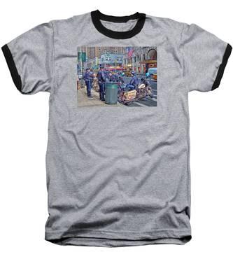 Nypd Highway Patrol Baseball T-Shirt