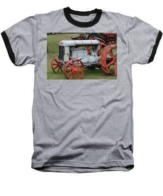 Old Tractor Baseball T-Shirt