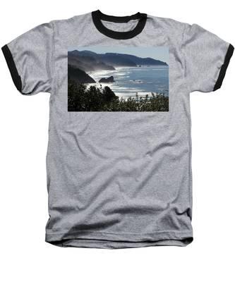 Pacific Mist Baseball T-Shirt