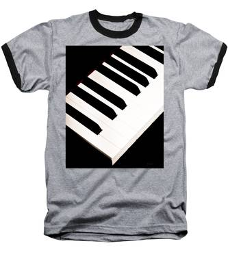 Piano Baseball T-Shirt