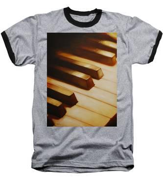 Piano Baseball T-Shirt