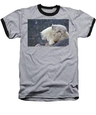 Piggyback Ride Baseball T-Shirt
