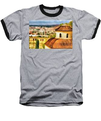 Pious Witness To The Passage Of Time Baseball T-Shirt