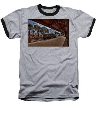 platform view of the first railway station of Tel Aviv Baseball T-Shirt