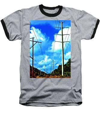 Power To The Infinity Baseball T-Shirt