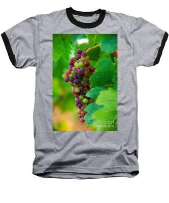 Red Grapes Baseball T-Shirt