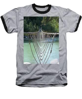 Rope Foot Bridge Baseball T-Shirt