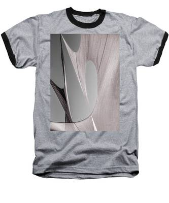 Sailcloth Abstract Number 2 Baseball T-Shirt
