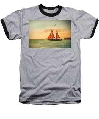 Sailing Into The Sun Baseball T-Shirt