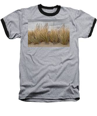 Sea Grass And Sand Baseball T-Shirt
