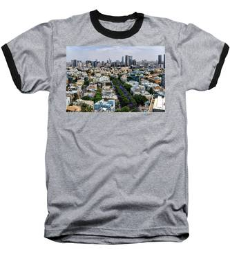 season change at Rothschild boulevard  Baseball T-Shirt