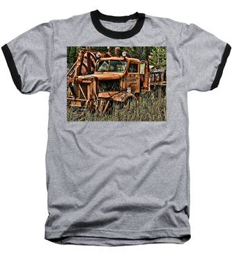 Snow Plow Baseball T-Shirt