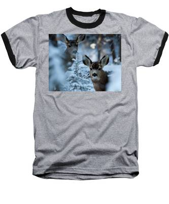 Somebody To Watch Over Me Baseball T-Shirt