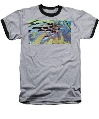 Standing Drops Baseball T-Shirt