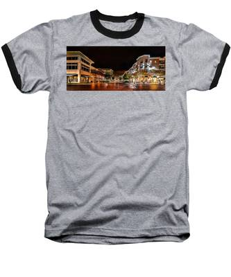Sugar Land Town Square Baseball T-Shirt