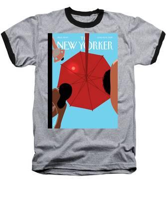 Summer Sky Baseball T-Shirt