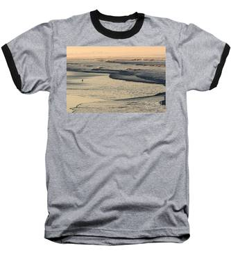 Sunrise On The Ocean Baseball T-Shirt
