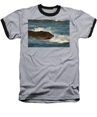 Surf And Rocks Baseball T-Shirt