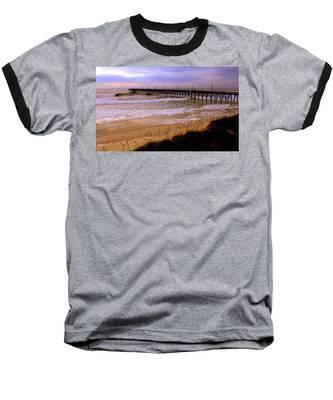 Surf City Pier Baseball T-Shirt
