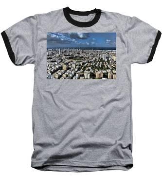Tel Aviv Center Baseball T-Shirt