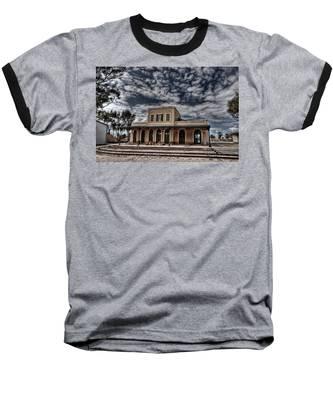 Tel Aviv First Railway Station Baseball T-Shirt