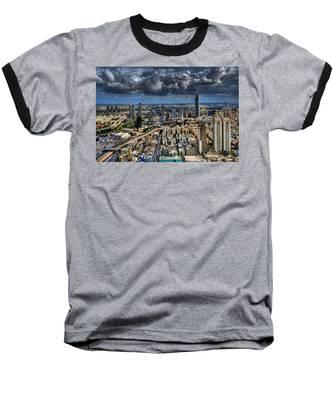 Tel Aviv Love Baseball T-Shirt
