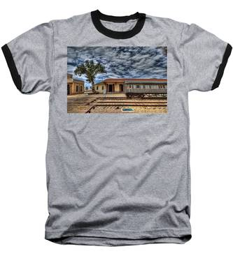 Tel Aviv Old Railway Station Baseball T-Shirt