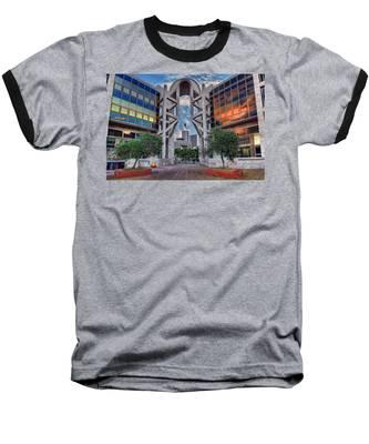 Tel Aviv Performing Arts Center Baseball T-Shirt
