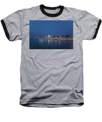 Tel Aviv The Blue Hour Baseball T-Shirt