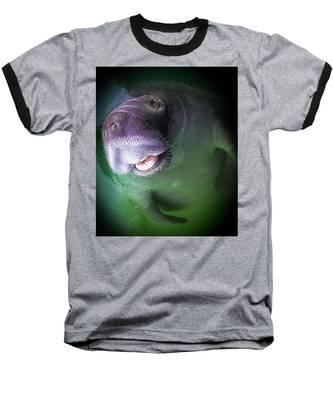 The Happy Manatee Baseball T-Shirt