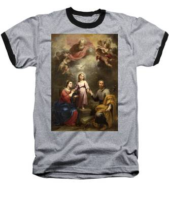 The Heavenly And Earthly Trinities Baseball T-Shirt