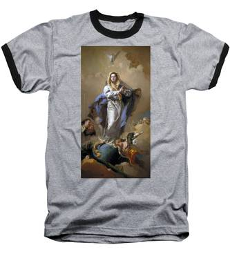 The Immaculate Conception Baseball T-Shirt