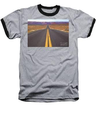 The Long Road Ahead Baseball T-Shirt