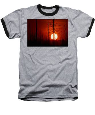 The Red Planet Baseball T-Shirt