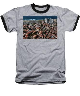 the Tel Aviv charm Baseball T-Shirt