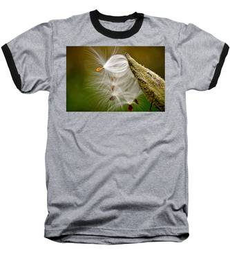 Baseball T-Shirt featuring the photograph Time For Me To Fly by Andrea Platt