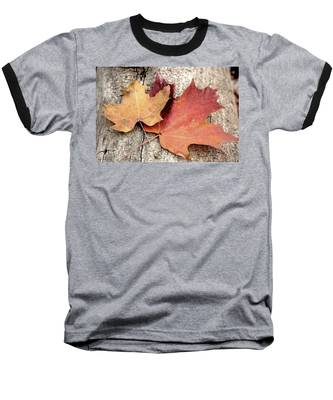 Baseball T-Shirt featuring the photograph Together by Andrea Platt