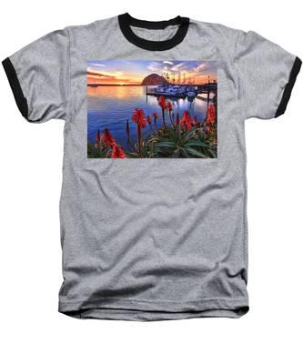 Tranquil Harbor Baseball T-Shirt