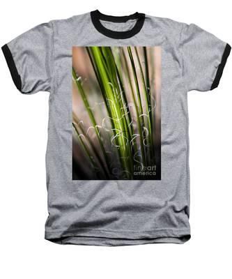 Tropical Grass Baseball T-Shirt