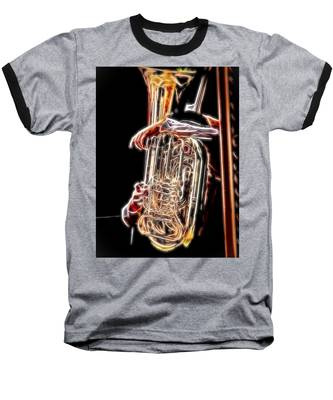 Tuba Player Baseball T-Shirt