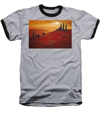Tuscan Sunset Baseball T-Shirt