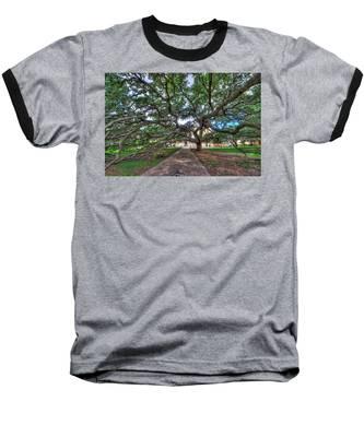 Under The Century Tree Baseball T-Shirt