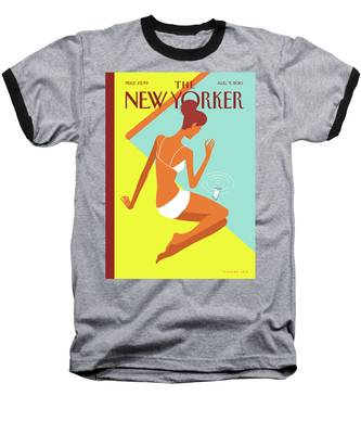 New Yorker August 9th, 2010 Baseball T-Shirt